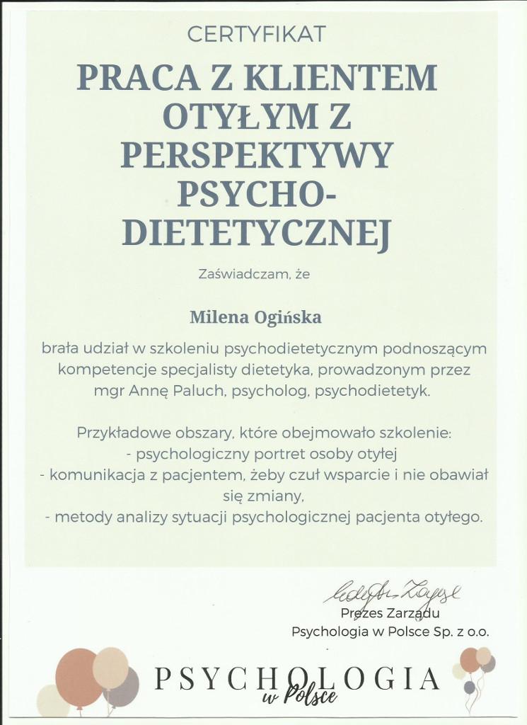 Psychodietetyka